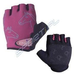 Rękawiczki dziecięce Chiba Girls różowe