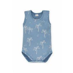 Body niemowlęce na ramiączka niebieskie 5T38AX Oferta ważna tylko do 2031-10-06