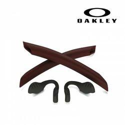 Gumki, noski, zauszniki Oakley Radarlock Metallic Red 100-785-007