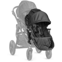 Baby Jogger Siedzisko dodatkowe black Siedzisko z adapterem do montażu na stelażu wózka.