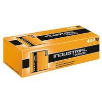 Baterie, 10 x bateria alkaliczna Duracell Industrial 3LR12 - płaska