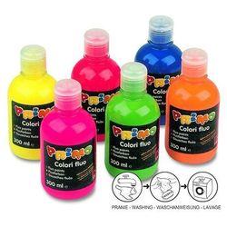 Farba plakatowa PRIMO 300ml. butelka - fluo turkusowa