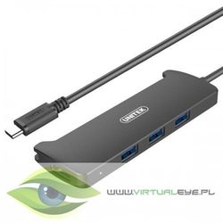 Unitek HUB USB Typ-C 3.1, 3x USB 3.1 + HDMI v2.0; V300A