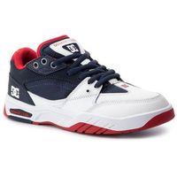 Męskie obuwie sportowe, Sneakersy DC - Maswell ADYS100473 Navy/White (Nvw)