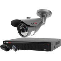 Zestawy monitoringowe, Zestaw monitoringu 1 kamera: Rejestrator LV-XVR44N, 1x Kamera LV-AL20MT
