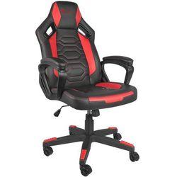 Fotel GENESIS Nitro 370 Czarno-czerwony