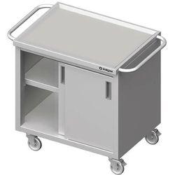 Wózek z szafką drzwi suwane STALGAST 1100x600x850mm 982046110