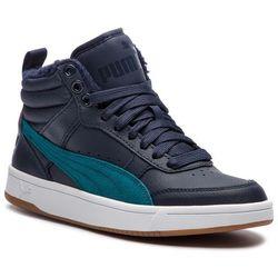 Sneakersy PUMA - Rebound Street V2 L Fur Jr 368197 02 Dk Sapphire/Blue Coral/White