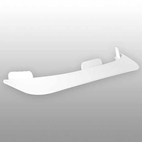 Ochraniacze na ciało, daszek TSG - Evolution Visor Abs White 160 (160) rozmiar: OS