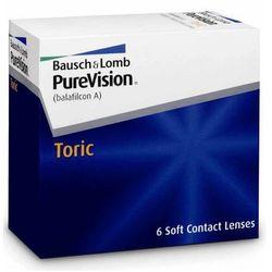 Bausch&Lomb Purevision Nigh & Day TORIC - 6 sztuk