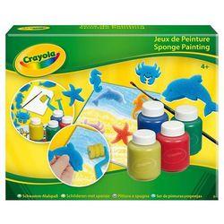 Zestaw do malowania z gąbeczkami - Crayola
