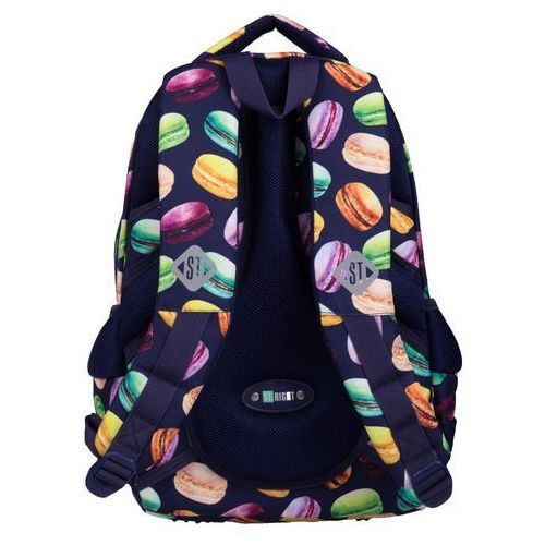 Tornistry i plecaki szkolne, ST.RIGHT Plecak szkolny 3 komory Macarons 2019