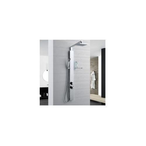 Novellini revif plus panel prysznicowy z baterią termostatyczną rev1vt-k