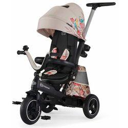 KinderKraft rowerek trójkołowy Easytwist, beżowy