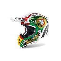 Kaski motocyklowe, AIROH KASK AVIATOR 2.3 AMS2 SIX DAYS 2020 PORTUGAL