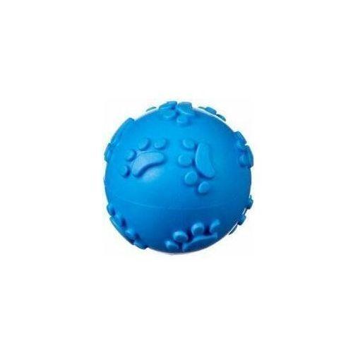 Piłki dla dzieci, Piłka kauczukowa, miękka S - blue