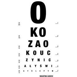 """Napis 11 """"Oko za oko..."""" - naklejka na dowolną powierzchnię"""