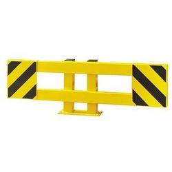 Zestaw barierek do ochrony regałów, do regału pojedynczego, rozsuwane 900 - 1300