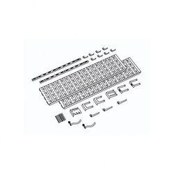 Panel na narzędzia i pojemniki, 18 uchwytów na narzędzia