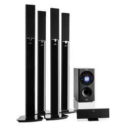 Auna Areal 653 5.1-kanałowy system audio surround 145 W RMS Bluetooth USB SD AUX