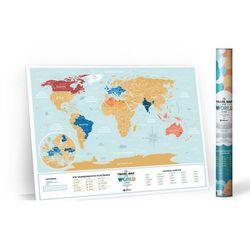 Mapa Zdrapka World Holiday LAGOON po Polsku