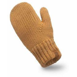 Rękawiczki damskie jednopalczaste PaMaMi - Camel