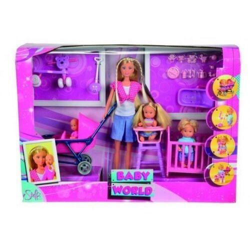 Pozostałe zabawki, Simba STEFFI Lalka,dzieci w pokoju dziecięcym