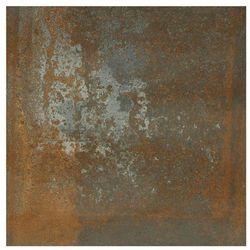 Gres szkliwiony LAMIERA BROWN 59.8 X 59.8 CERAMIKA PARADYŻ