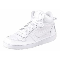 Nike Sportswear COURT BOROUGH Tenisówki i Trampki wysokie weiß/hellgrau