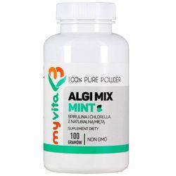 Algi Mix Mint (Spirulina i Chlorella), 100g Myvita