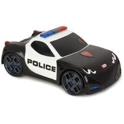 Dotknij i jedź samochód wyścigowy, radiowóz policyjny