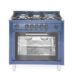 Kuchnia gazowa 5-palnikowa z piekarnikiem konwekcyjnym i grillem