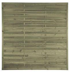 Płot lamelowy 180x180 cm drewniany STELMET