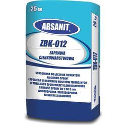 Zaprawa cienkowarstwowa ARSANIT ZBK-012