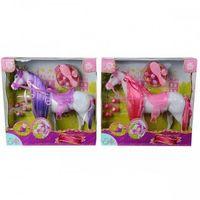 Pozostałe zabawki, STEFFI Koń z akcesoriami fioletowy - Simba Toys DARMOWA DOSTAWA KIOSK RUCHU