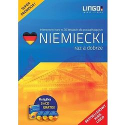 Niemiecki raz a dobrze. książka, cd, ebook, audiobook - tomasz sielecki