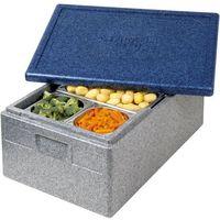 Kosze i pojemniki gastronomiczne, Pojemnik termoizolacyjny z polipropylenu GN 1/1 150 mm | THERMO FUTURE BOX, 056150