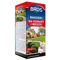 Środki i akcesoria przeciwko owadom, BROS Bagosel 100EC - preparat do oprysku ogrodu przeciw komarom 50 ml