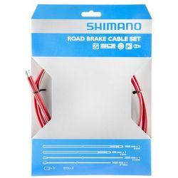 Shimano Road Przewód hamulcowy SIL-TEC powlekane czerwony Przewody i osłonki hamulcowe Przy złożeniu zamówienia do godziny 16 ( od Pon. do Pt., wszystkie metody płatności z wyjątkiem przelewu bankowego), wysyłka odbędzie się tego samego dnia.