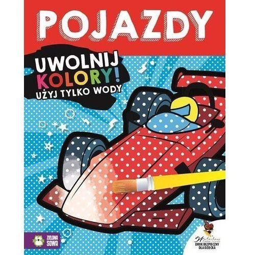 Książki dla dzieci, Uwolnij kolory Pojazdy (opr. miękka)