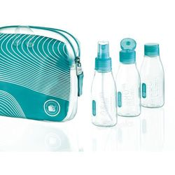 Go Travel DG/656 butelki podróżne na kosmetyki 100 ml x4