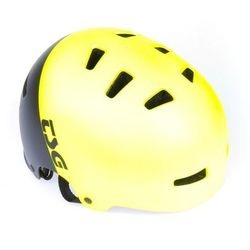 kask TSG - evolution youth graphic design divided acid yellow-black (252)