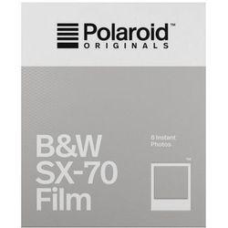 Polaroid Originals SX-70 B&W czarno-biały wkład Polaroid białe ramki