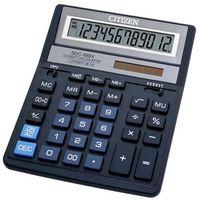 Kalkulatory, Kalkulator biurowy CITIZEN SDC-888XBL, 12-cyfrowy, 203x158mm, niebieski