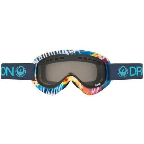 Kaski i gogle, gogle snowboardowe DRAGON - Dx Tie Dye (Smoke) (928) rozmiar: OS