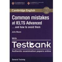 Książki do nauki języka, Common Mistakes at IELTS advanced with Testbook - Dostawa 0 zł (opr. miękka)