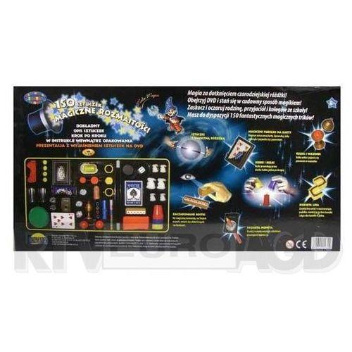 Pozostałe zabawki edukacyjne, Dromader Mały Magik 150 sztuk + DVD