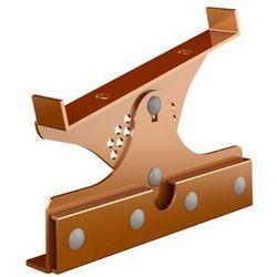 Wspornik ławy kominiarskiej miedziany TYP 2 do blach panelowych na rąbek