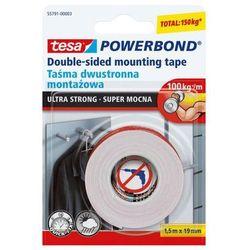 Taśma dwustronna 1,5mX19mm Tesa Powerbond ultra strong przezroczysta
