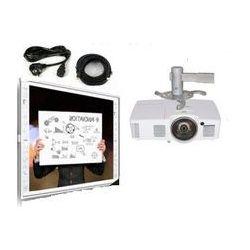 Tablica interaktywna Newlinie R3-800 + projektor krótkoogniskowy Acer S1283Hne + uchwyt ścienny + kabel 10m + głośniki MT3143